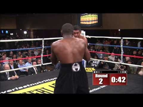 Joe Greene vs. Edson Aguirre - Gotham Boxing