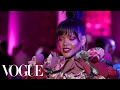 rihanna on her game changing met gala red carpet look met gala 2017