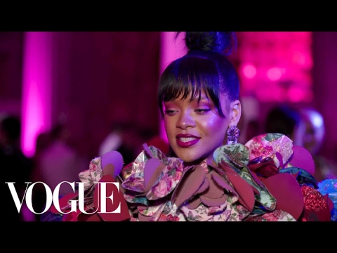 Rihanna on Her Game-Changing Met Gala Red Carpet Look | Met Gala 2017