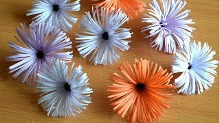 How To Make Flower With Paper: Paper Flower diy