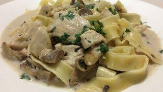 Chicken Fettuccine - Weight Loss Recipe