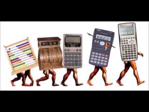 Evolución de la calculadora