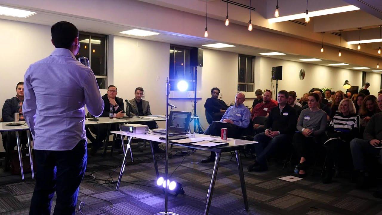 SpotHero CEO Mark Lawrence Keynote VC Pitch - Part 1