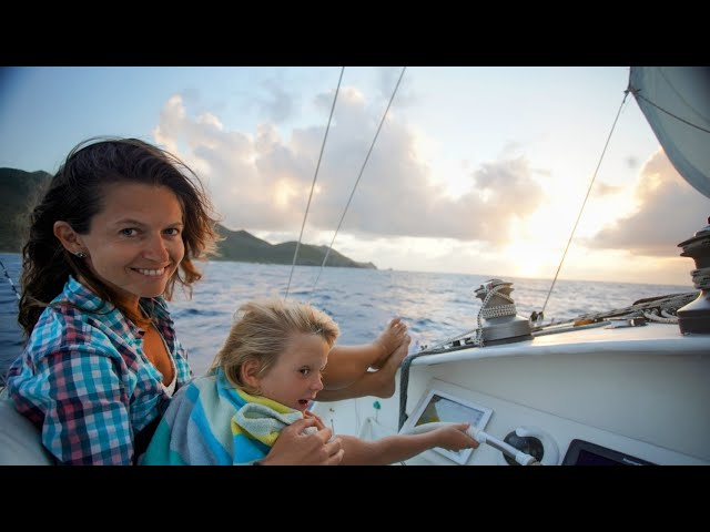 Sailing our Trimaran to Guadeloupe