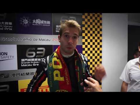 FIA F3 World Cup - Winner Antonio Felix Da Costa
