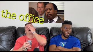 The Office REACTION 4x12 Did I Stutter