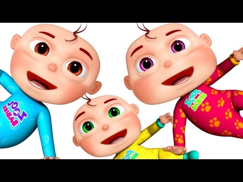 Ten Little Babies   Learn Counting   3D Rhymes & Baby Songs   Learning Songs For Kids