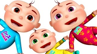 Ten Little Babies | Counting Songs | Nursery Rhymes Collection | 3D Rhymes & Baby Songs