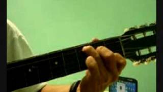 YOU ARE NOT ALONE EN GUITARRA.wmv