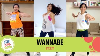 Wannabe by Itzy | Live Love Party™ | Zumba® | Dance Fitness