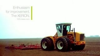 Enthusiam for improvement. The XERION. // 100 years of CLAAS // www.100.claas.com