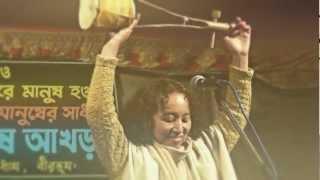 Baul Song, Maki Kazumi at Joydev Mela, Lalon Fakir, বাউল indian music