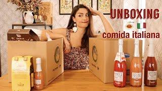 UNBOXING comida ITALIANA | Dirty Closet