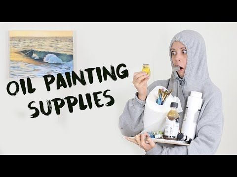 Beginners Oil Painting | Supplies