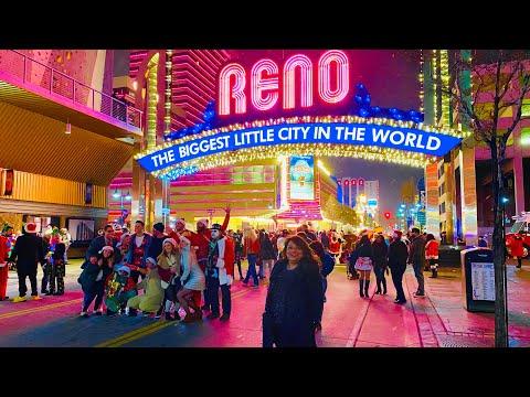 Reno (USA)-The Biggest Little City In The World !! | Casino Rules | Casino Night Life