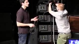 Instalacioin d&b audiotechnik Serie V