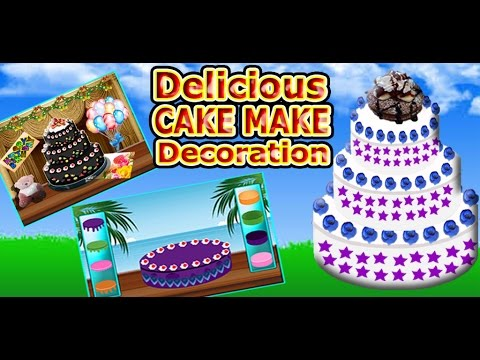 Delicious Cake Make Decoration Cooking Games Android iPhone