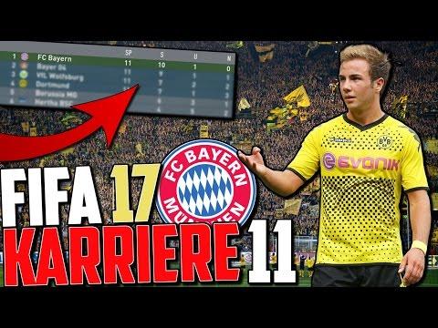 VORENTSCHEIDUNG IM TITELKAMPF VS DORTMUND ?!! | FIFA 17 Karrieremodus Fc Bayern (Deutsch) #11