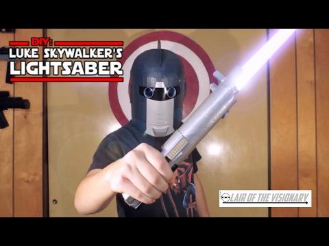 DIY: Luke Skywalker's Lightsaber - Lair of the Visionary