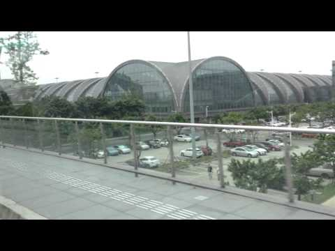 Chengdu airport terminal 1 to terminal 2 - Use airport shuttle