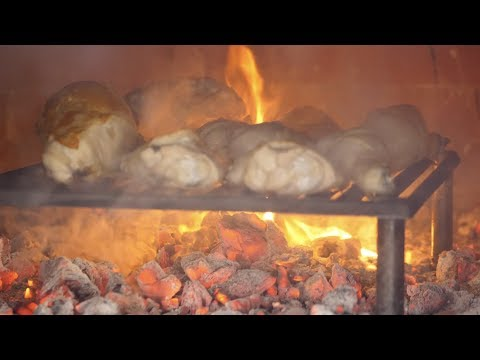 Wood Fired Chicken In Pizza Oven