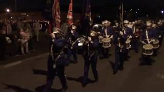 Monkstown FB @ Ballyduff Somme Memorial Parade 2019