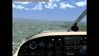 FlightGear: Traffic Pattern in the Piper PA-34 Seneca II