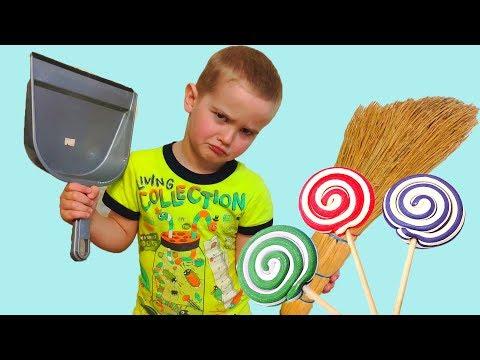 Learn colors with fruit lollipops. Finger family song. Учим цвета. Семья пальчиков песенка.