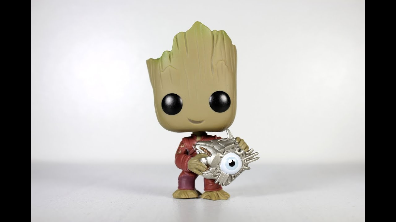fab8bee8b03 GROOT with CYBER EYE Funko Pop review - YouTube