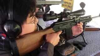 shooting my modified vepr ak74 rifle 20 inch barrel vs 5 45x39 russian surplus ammo