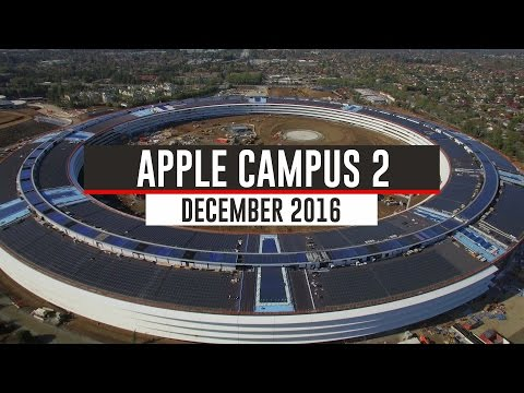 Take a look on recent construction progress at Apple Campus 2 [Video]