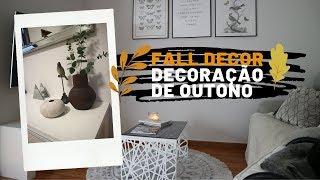 DECORAÇÃO DE OUTONO 2019 🍁 FALL DECOR 2019 | LADYSTUDIOCORNER
