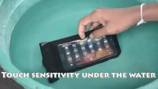 Su Geçirmez Cep Telefonu Kılıfı Tanıtım Videsu