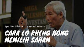 Kriteria Saham Lo Kheng Hong (Warren Buffet Indonesia) - Value Investing - Investasi untuk Pemula