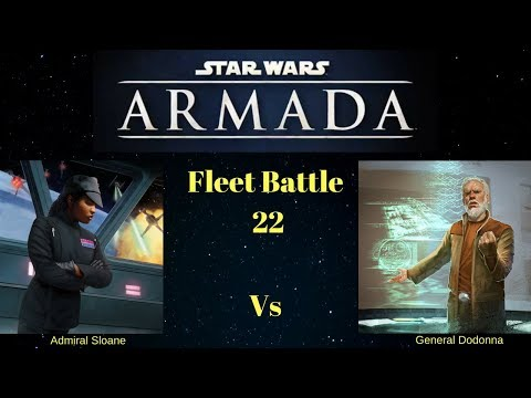 Star Wars Armada - Fleet Battle 22 - Wave 7