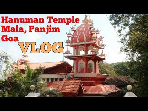 A MUST VISIT Hanuman Temple Panjim Goa VLOG | Archana Tai Mandir Visit | Tasty Safar in Goa