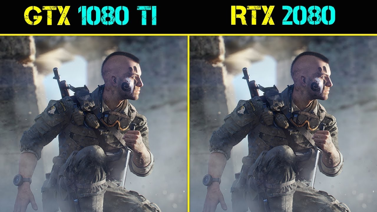 RTX 2080 vs GTX 1080 Ti Battlefield 5 | 1440p | Ultra Settings