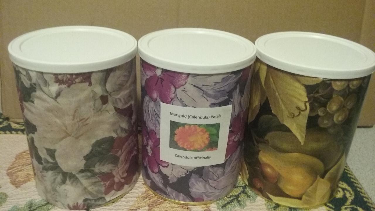 DIY Herbal Loose Leaf Tea Storage made from Food Containers & DIY Herbal Loose Leaf Tea Storage made from Food Containers - YouTube