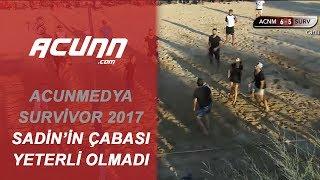 Sadin'in Çabası Yeterli Olmadı! | Acun Medya - Survivor 2017 Voleybol Karşılaşması