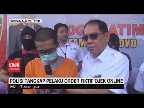 Polisi Tangkap Pelaku Order Fiktif Ojek Online Youtube