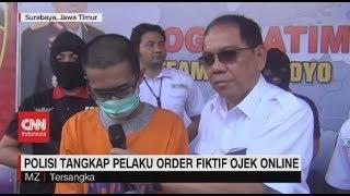Polisi Tangkap Pelaku Order Fiktif Ojek Online