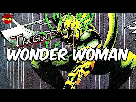 """Who is DC Comics """"Tangent Wonder Woman?"""" Powerful Alien from Gotham"""