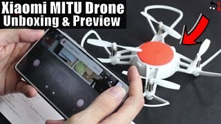 Xiaomi MITU Drone - Is It Better Than DJI Tello? Unboxing & Hands-on Preview