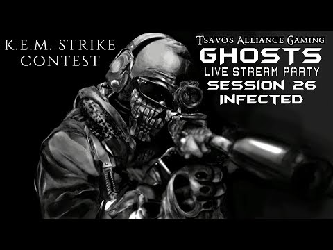 ☢GHOSTS: Infected - Session 26 (Xbox 360 Server) K.E.M. STRIKE CONTEST