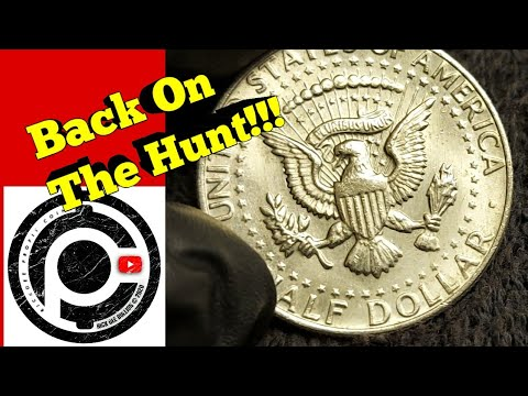 Coin Roll Hunting Half Dollars! Finding Silver And A Few Other Cool Finds!