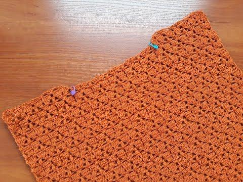 Пуловер с вырезом лодочка крючком