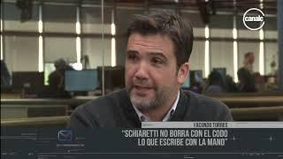 """Facundo Torres: """"Schiaretti no borra con el codo lo que escribe con la mano"""""""