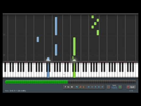 Bach: Minuet in G - Piano Tutorial (Synthesia) + Sheet Music & MIDI