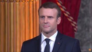 Emmanuel Macron Sworn In as French President