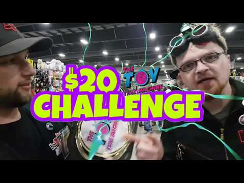 SLIMY COMICCON $20 TOY HUNT CHALLENGE FT. NEAL ADAMS and PICK UPS TOXIC CRUSADERS, CORNHOLIO and GBs